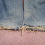 ジーンズリペア裾
