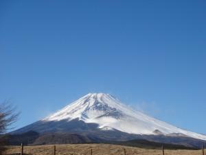 御殿場方向から 富士山