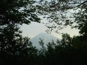 富士山とジーンズリペア