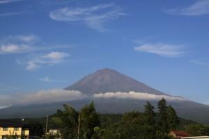 富士山とデニムリペア