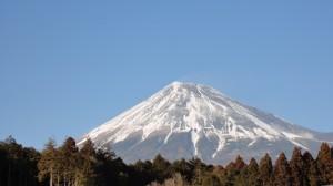 デニムと富士山