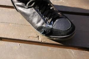 靴のリペア