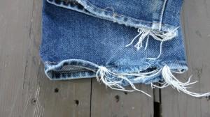 デニムリペア 裾