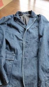 洗い加工 ストーンウオッシュ ジャケット